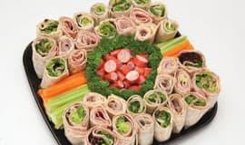 Fresh wrap platter
